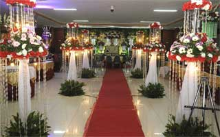 Wedding di GOR Tanjung Duren